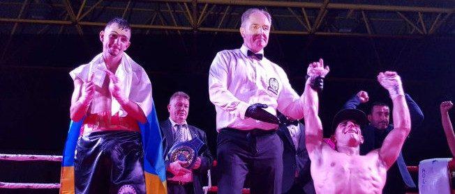 Sebastian Perez - EU Champion
